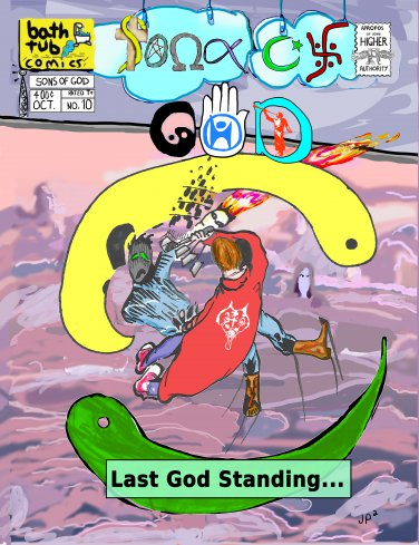 Sons of God Issue 10 (Standard Cover A)