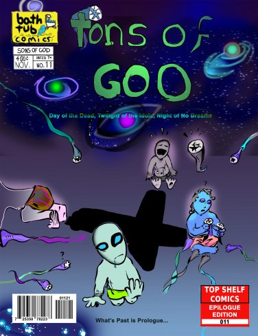 Sons of God, Issue 11 Variant Cover