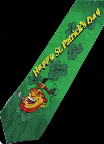 Happy St. Patrick's Day Saint Fancy Novelty Neck Tie