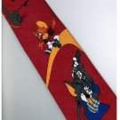 Tom and Jerry Golf RED Cartoon Fancy Novelty Neck Tie