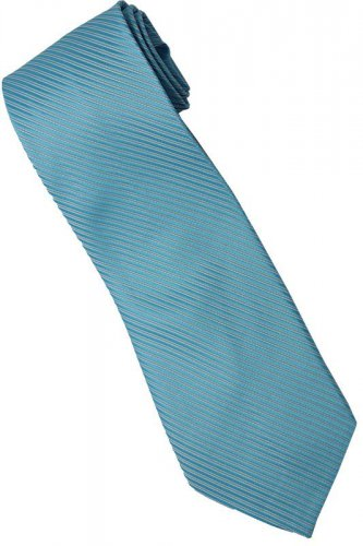 BU2 Sky Blue Solid Neck Tie