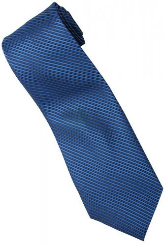 BU3 Blue Solid Neck Tie
