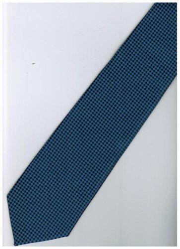 BU9 Blue Solid Neck Tie