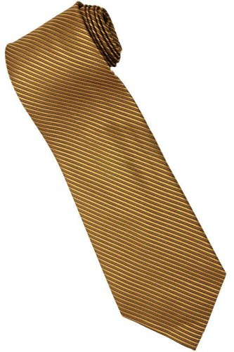 GO3 Gold Solid Neck Tie