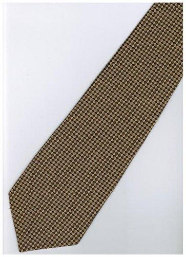 GO7 Gold Solid Neck Tie