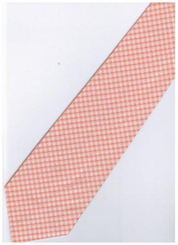 O1 Orange Solid Neck Tie
