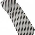 EB16 Black White Stripe Neck Tie