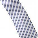 EBW1 Sky Blue White Purple Stripe Neck Tie