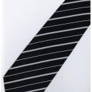 EDB5 Blue White Stripe Neck Tie