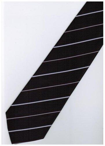 EPP11 Purple White Stripe Neck Tie
