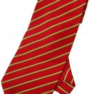 Red Yellow White Green Striped Men Formal Fashion Neck Tie
