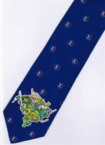 4 Teenage Mutant Ninja Turtles TMNT Cartoon Fancy Novelty Neck Tie
