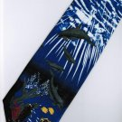 Fish Dolphin Marine Life Coral Fancy Novelty Neck Tie