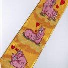 Valentine Day Pig Sex Make Love Fancy Novelty Neck Tie  3