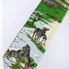 Zebra Mammal Animal Fancy Novelty Neck Tie