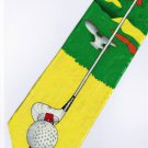 Golf Sport Fancy Novelty Neck Tie