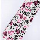 Musical Skull Emo Punk Fancy Novelty Neck Tie