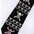Pirates of the Caribbean Skull Movie Fancy Novelty Neck Tie