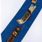 Vintage Hand Phone Fancy Novelty Neck Tie