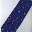 Monkey Chimpanzee Mammal Animal Cartoon Fancy Novelty Neck Tie