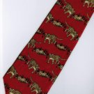 Tiger Mammal Animal Many Fancy Novelty Neck Tie