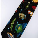 Fish Nemo Sea Horse Marine Life Fancy Novelty Neck Tie