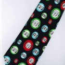 Musical Symbols Cartoon Fancy Novelty Neck Tie