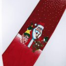 Christmas Santa Claus Xmas Clown Reindeer Fancy Neck Tie