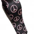 Peace Symbol PINK Slim Novelty Neck Tie