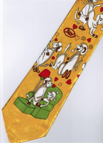 Valentine Day Love 1 Fancy Novelty Necktie