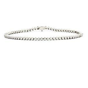 Tiffany & Co Jazz Tennis Bracelet in 950 Platinum with Diamonds Length 6.5""