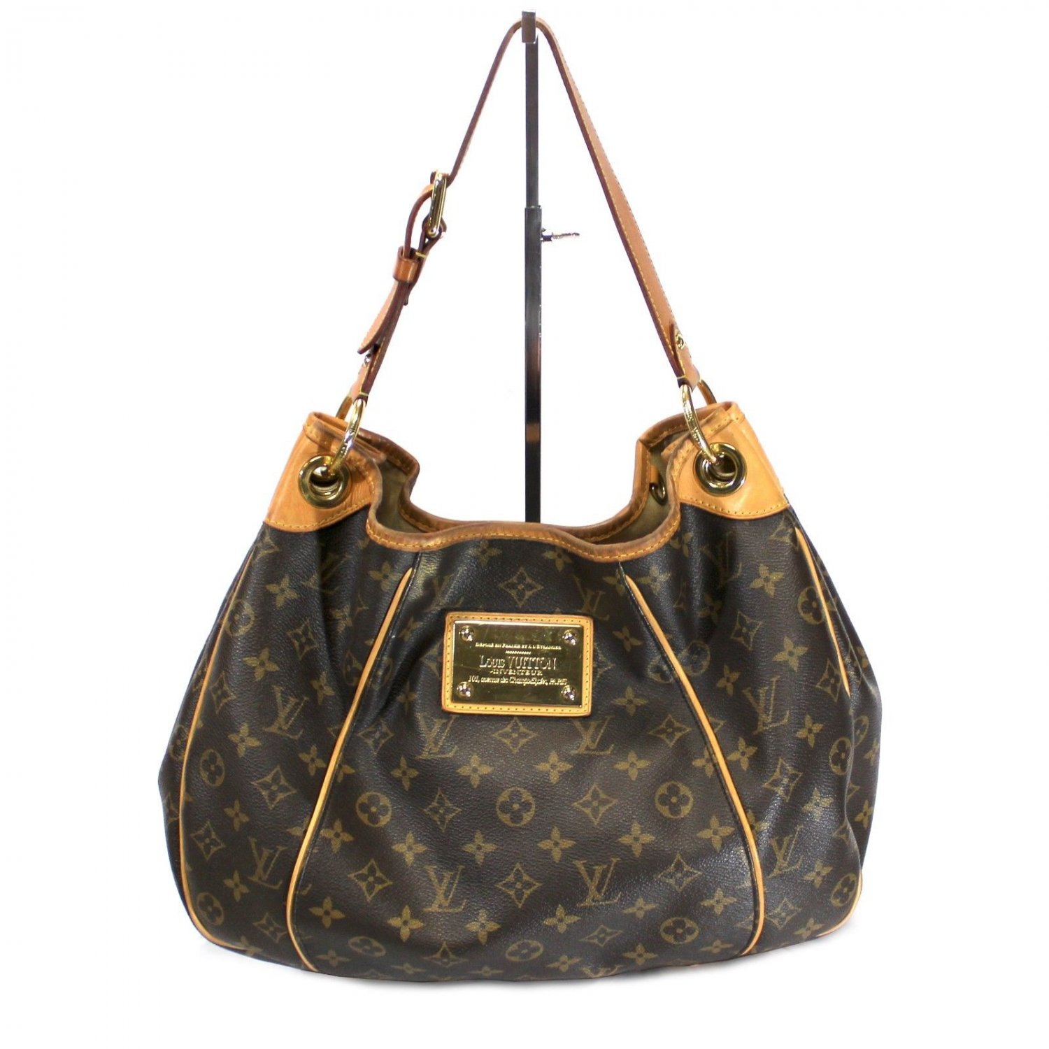Louis Vuitton Monogram Canvas Galliera PM Hobo with Dust Bag