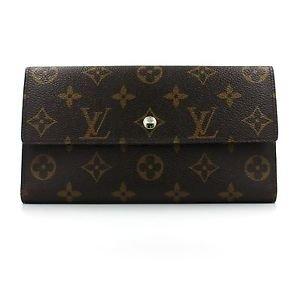 Louis Vuitton Monogram Porte Tresor International Wallet with Dust Bag