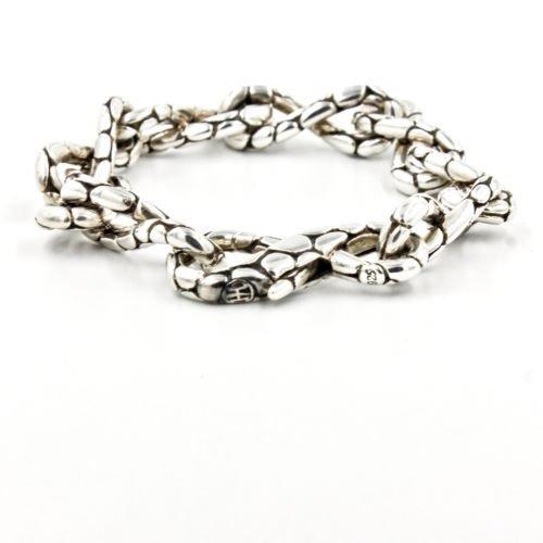 """John Hardy Kali Twist Link Chain Bracelet in Sterling Silver 8"""""""