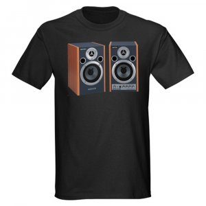 Kactus Clothing urban wear t-shit speaker