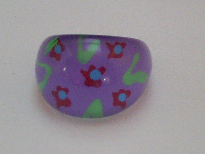 KCRIN 00003  Plastic Ring Purple