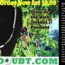 The Jungle w/ Multi-Colored Beetle Pendant
