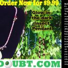 Summer Bloom w/ Gold Beetle Pendant