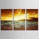 Canvas Set Landscape Modern / Classic,Three Panels Canvas Vertical Print Wall Decor For Home Decor