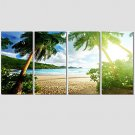 Canvas Print Art Set Of 5 Wall Pictures For Linving Room Abstract Natural Scenery Pictures Home De
