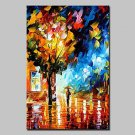 Large Hand Painted Modern Landscape Oil Painting On Canvas Wall Art Picture With Stretched Frame R