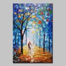 Hand Painted Landscape Oil Paintings On Canvas Modern Abstract Lovers Picture Wall Art For Home De
