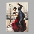 IARTS  Oil Painting Lover Dancing Waltz in Paris Modern  Abstract Art Acrylic Canvas Wall Art For