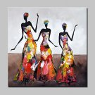 Hand Painted Fashion Sexy Girl Oil Paintings On Canvas Modern Wall Art Picture For Home Decoration