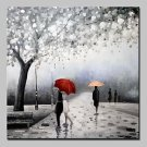 Hand Painted Landscape Oil Paintings On Canvas Wall Art For Home Decoration With Stretched Frame R