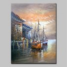 Big Size Hand Painted Landscape Oil Painting On Canvas Modern Abstract Wall Art Picture For Home D