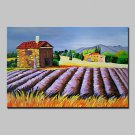 Hand Painted Flowers Landscape Oil Painting On Canvas Modern Abstract Wall Art Pictures For Home D