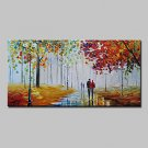 Large Size Hand-Painted Knife Oil Paintings On Canvas Modern Abstract Wall Picture For Home Decora