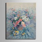 Mini Size E-HOME Oil painting Modern Flowers And Fruits On The Table Pure Hand Draw Frameless Deco