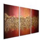 VISUAL STAROil Painting Modern Abstract Hand Paint Canvas Art Ready To Hang